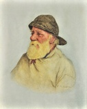 Portrait of a Newlyn fisherman