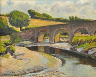 The Bridge of Wool, River Camel, Wadebridge, Cornwall