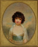 Portrait of Charlotte Shore, Daughter of the 1st Lord Teignmouth 1790 - 1864