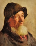 Portrait of a Cornish fisherman